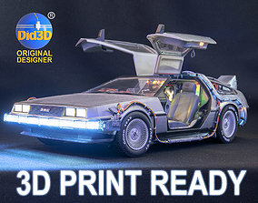 DELOREAN HQ Special 3Dprint design 1-8 Scale 530mm