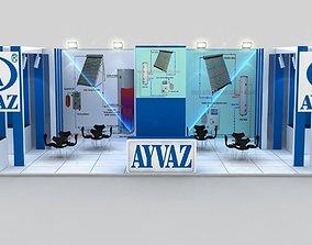 3D model Ayvaz Exihivition Design
