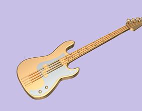 Guitar pendant 3D print model