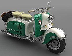 3D Motor Scooter Berlin SR59