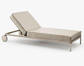 Dedon - Rayn beach chair 3D model