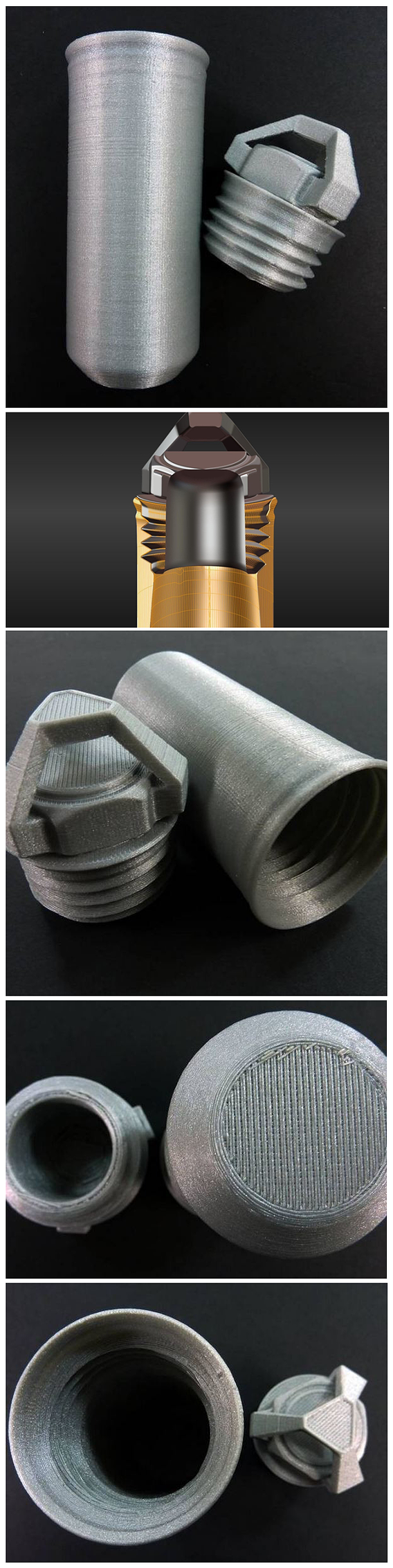 3D-Printable Geocaching Capsule Design