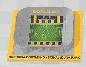 Borussia Dortmund - Signal Iduna Park 3D print model