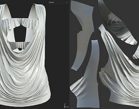 t-shirt 2 3D asset