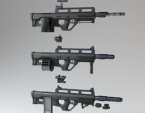 3D Heavy Modular Gun Kit