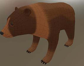 3D asset Forest bear