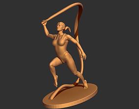 3D printable model Ribbon Dancer