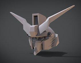 Gundam Deathscythe Head 3D print model