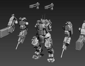 28mm scale Assault Suit 3D print model