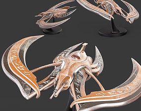 3D print model UstX-Wing Spaceship