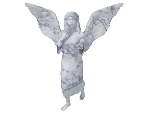 3D model Angel Statue