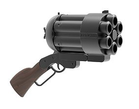 Big Baby Gun mock-up 3D printable model
