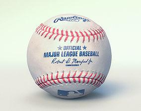 3D model Official Major League Baseball