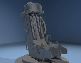 Helicopter Seat 3D
