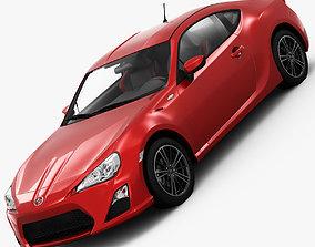 photorealistic Scion FR-S 2013 3D model