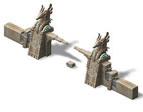 3D Different dimension - Egypt - City Gate 02