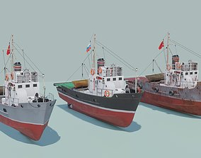 Small fishing seiners MRS-80 3D