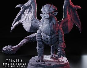 Teostra - Monster Hunter - 3D Fan Art -