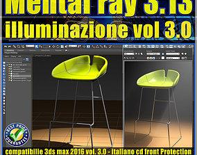 Mental ray in 3dsmax 2016 Vol 3 illuminazione cd