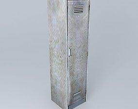 3D Metal Locker