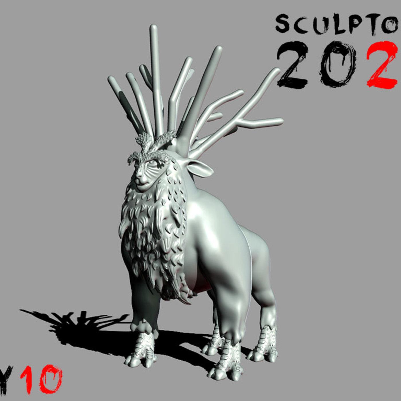 Sculptober Day 10 Nature