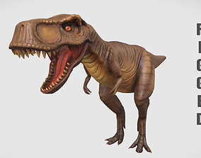 Rigged Trex Character 3D asset realtime