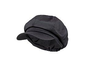 Fancy Leather Cap 3D model
