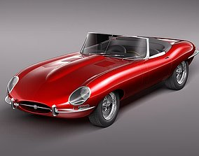 3D Jaguar E-Type