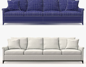 3D asset Hickory furniture Jules Sofa
