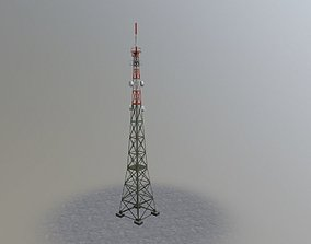 3D model Prague Comm Tower