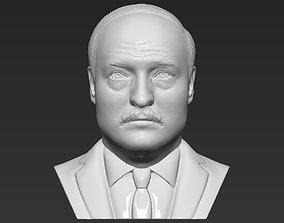 Alexander Lukashenko bust 3D printing ready stl obj