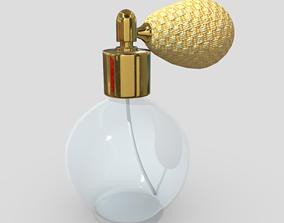 3D model realtime Perfume Bottle