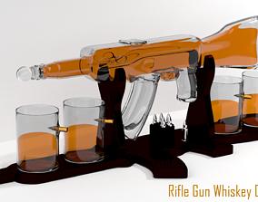 Rifle Gun Whiskey Decanter 3D model