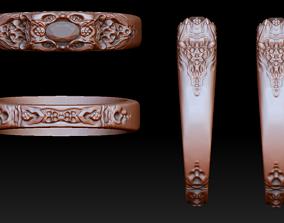 3D print model Organic ring nature