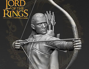 Legolas The Lord of the Rings 3D printing ready stl obj