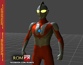 Ultraman Type-C 3D Figure Printable