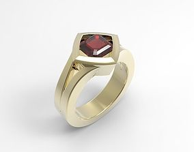 Jewelry ring for wedding 3d model for woman