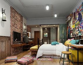 3D mattress Bedroom