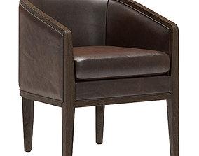 Restoration Hardware Dixon Leather Armchair 3D model