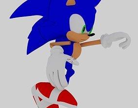 Sonic 3D model print