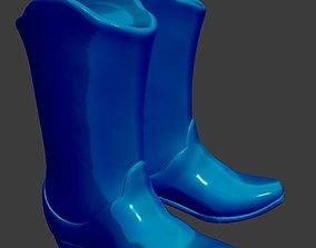 Cowboy Boots 3D print model