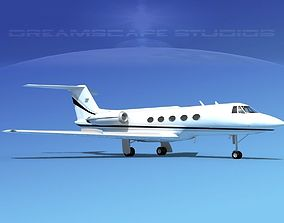3D Grumman Gulfstream C-IIB V09