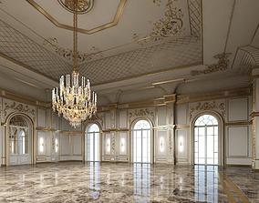 Classical Historic Interior 3D