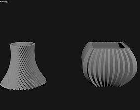 3D Printed Planter Plant Pot Plant Vase 101