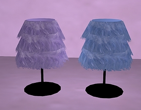 Lampshade with lighting 3D model