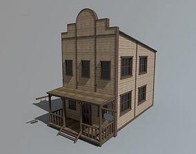 Wild West Building 3D model