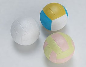 3D model realtime Volley Ball