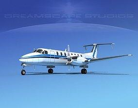 3D Beechcraft B1900C V04