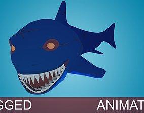 3D asset Shark