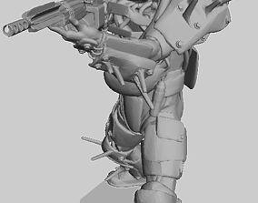 3D printable model Raider